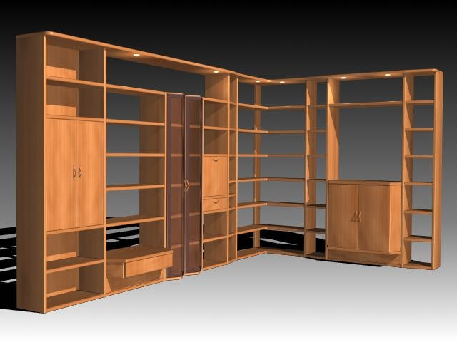 furniture cabinet wardrobe 3d model