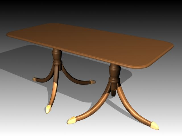 3dsmax tables