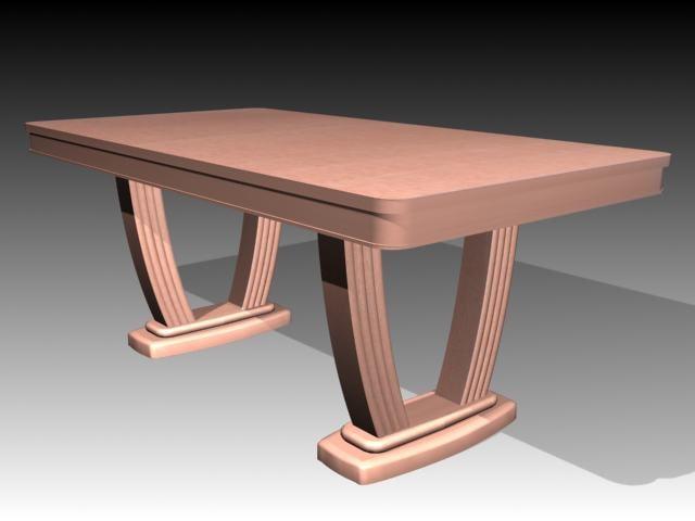 3d model tables