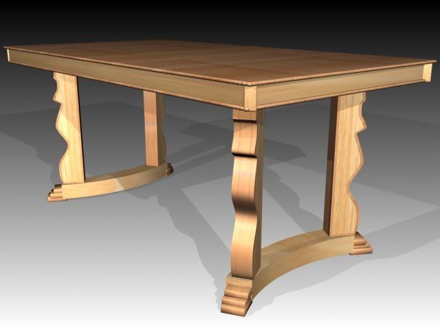 tables 3d max
