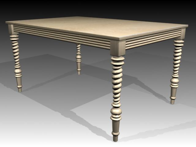 3ds max tables