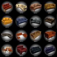 3ds max sofas 16