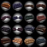 3d 16 sofas