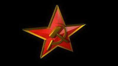 3d model sovjet star