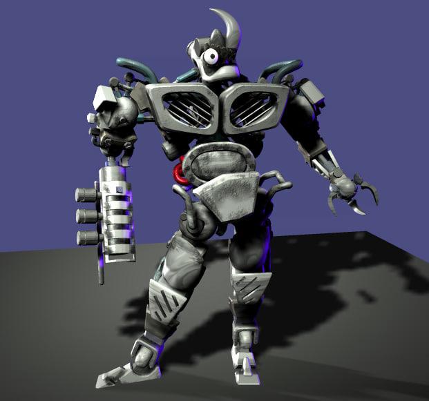 brain-stem 3d model
