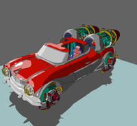 cars vehicles dodge 3d model
