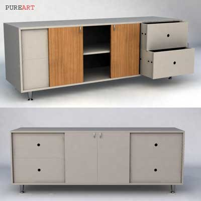 cota drawer 3d model