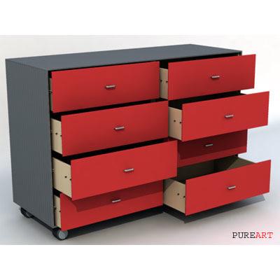 3d peky drawer model
