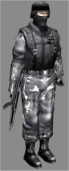 3d swat soldier games model