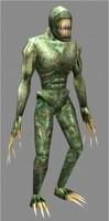 3d model alien mutant