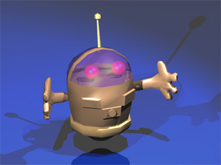 robot 3ds free