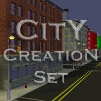 city build 3d model