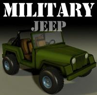 military jeep mil-jeep 3d model