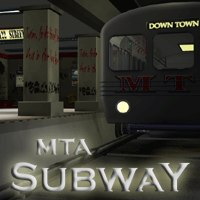subway poser set 3d model