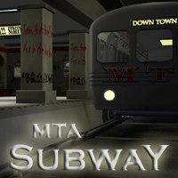 subway poser set 3d model