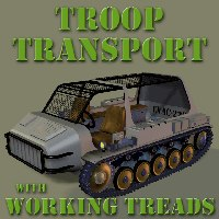 treads transport 3d pz3
