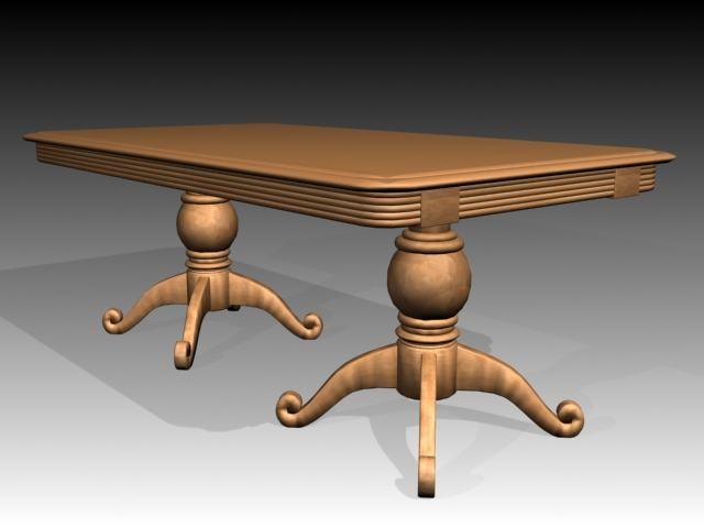 maya table furniture