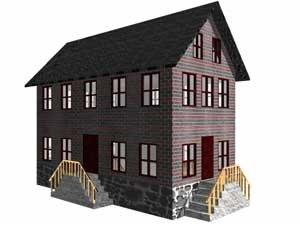 old house obj