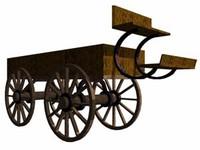 lightwave old wagon