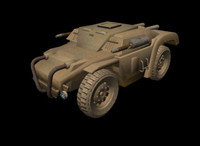 WSH Armoured Scout Car 3DS