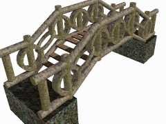 bridge 3d obj
