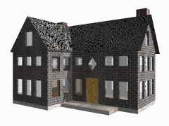 dxf house