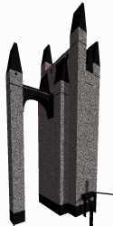 3d model asylum batman