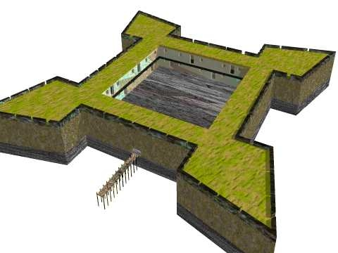 3d spanish fortress
