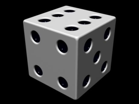 free dice project 3d model