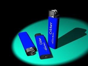 proportional lighter 3d model