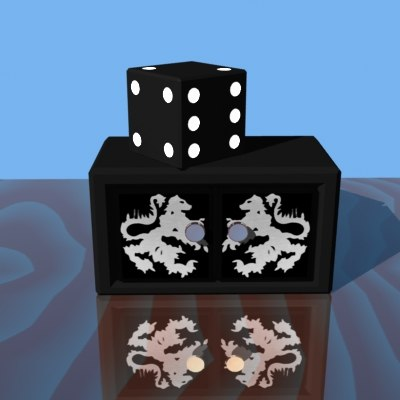 magic dice box 3d lwo