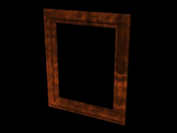 free 3ds model picture frame