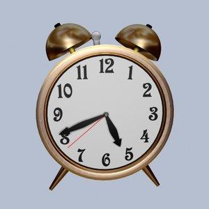 3d max alarm clock
