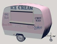 3ds icecream van zipped