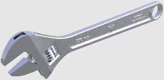 3d adjustable spanner