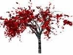 3d model of wild shrub