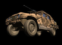 armoured car hummer 3ds