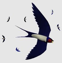 swallow flight 3d 3ds