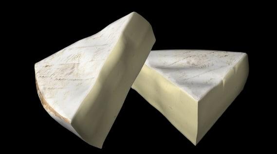 3dsmax cheese brie