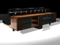 sofa-cabinet 3d model