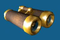 binoculars 3d max