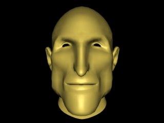3dsmax male mesh head