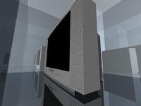 panasonic tv sldprt 3d 3ds