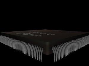 untel processor old chip max