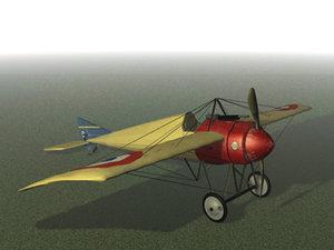 morane-saulnier fighter 3d 3ds