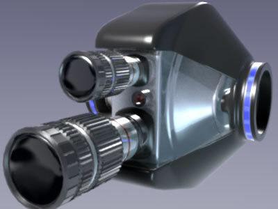 3d camera lightwave model