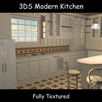 kitchen cabinets 3d model