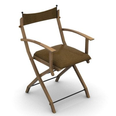 portable chair 3d model