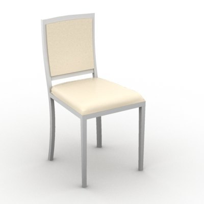 classic chair 3d max