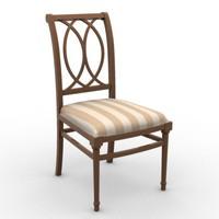 3d max modern classic chair